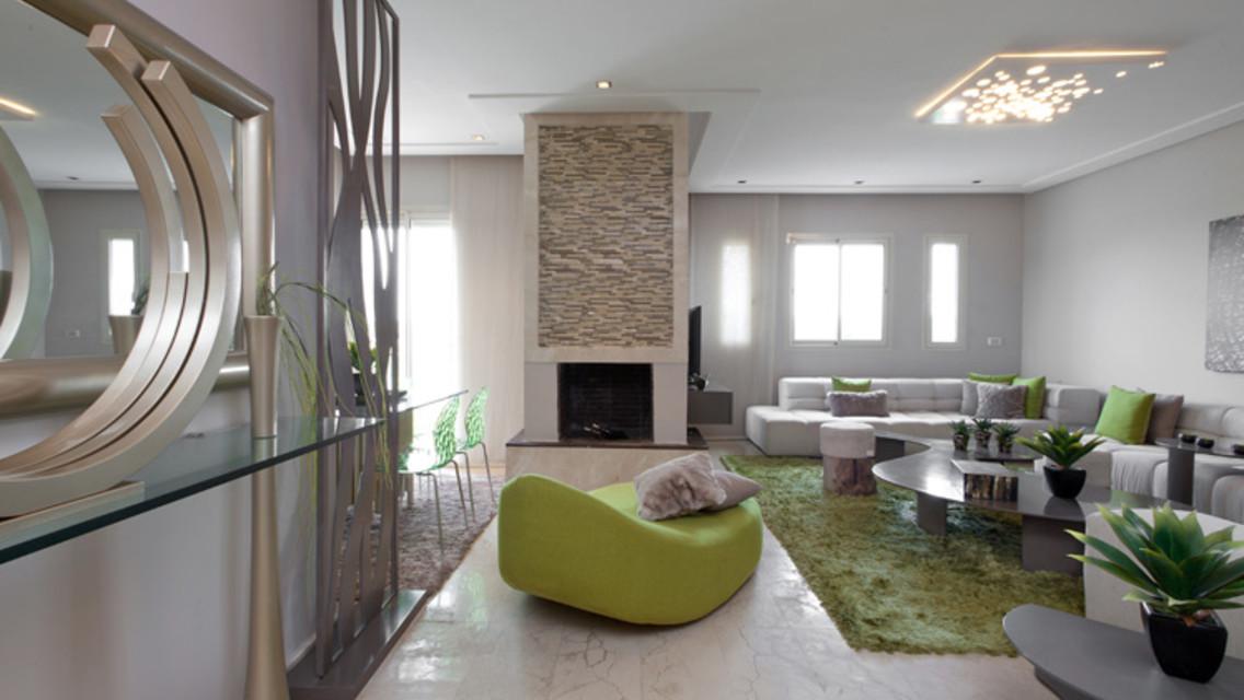 grand appartement à bouskoura de 203 m²