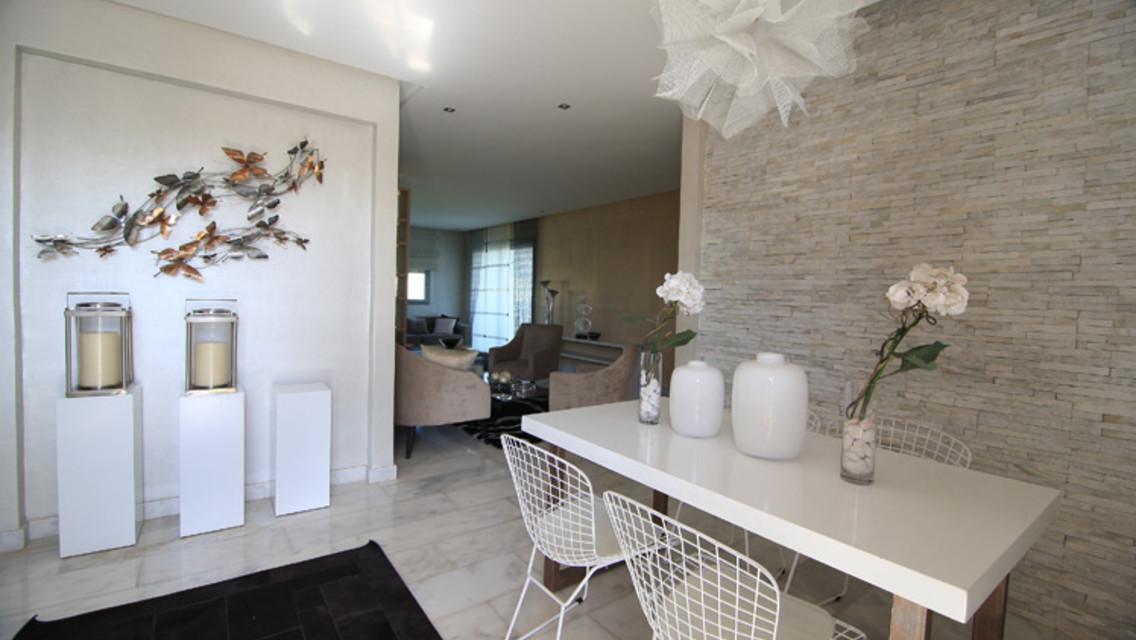 bel appartement à bouskoura de 147m²